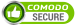Trusted Comodo Secure Logo