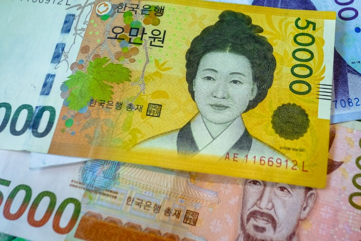 south-koarean-dollar-notes