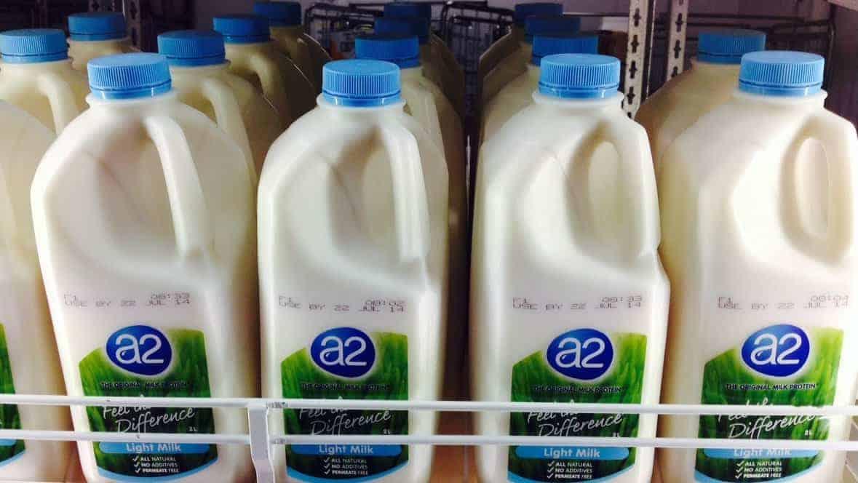 A2 Milk shares