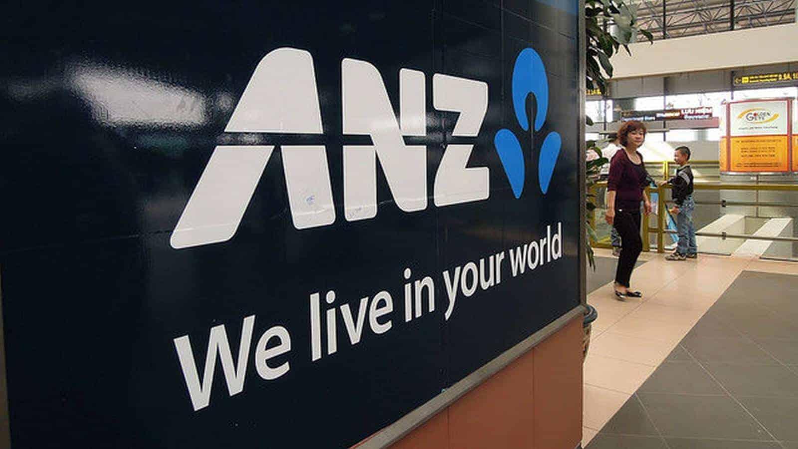 ANZ share price