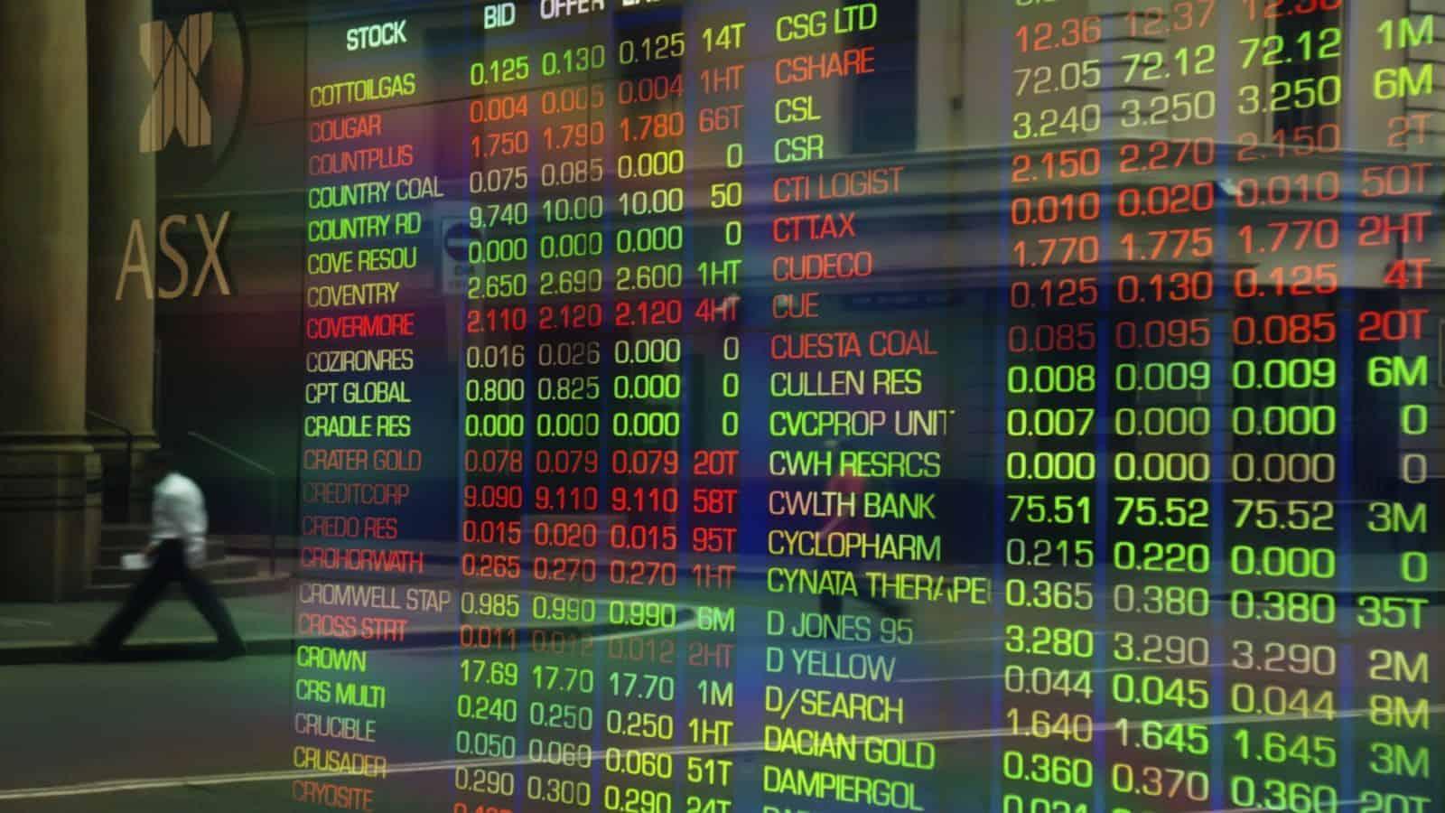 ASX stock market