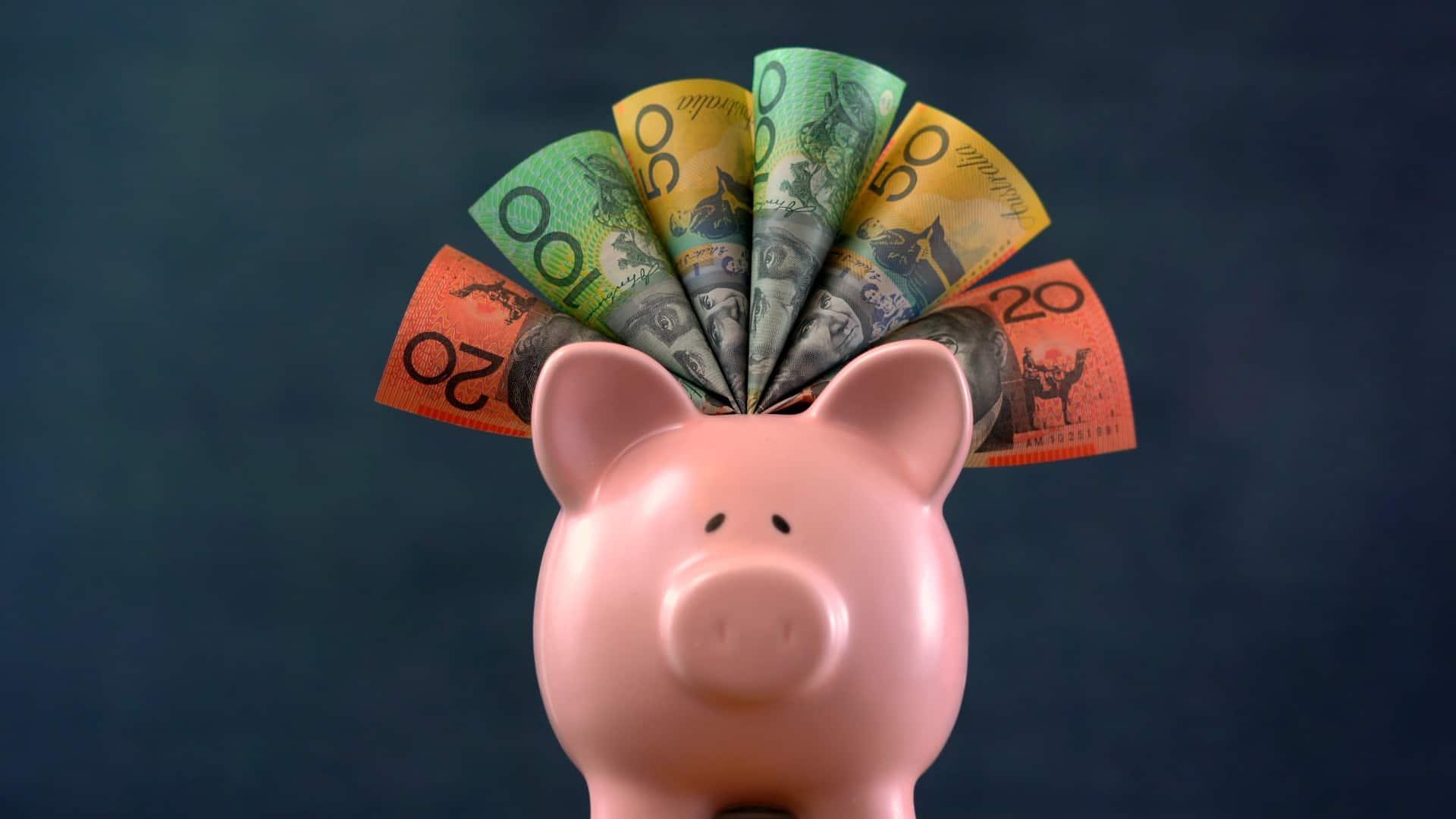 cash piggy bank