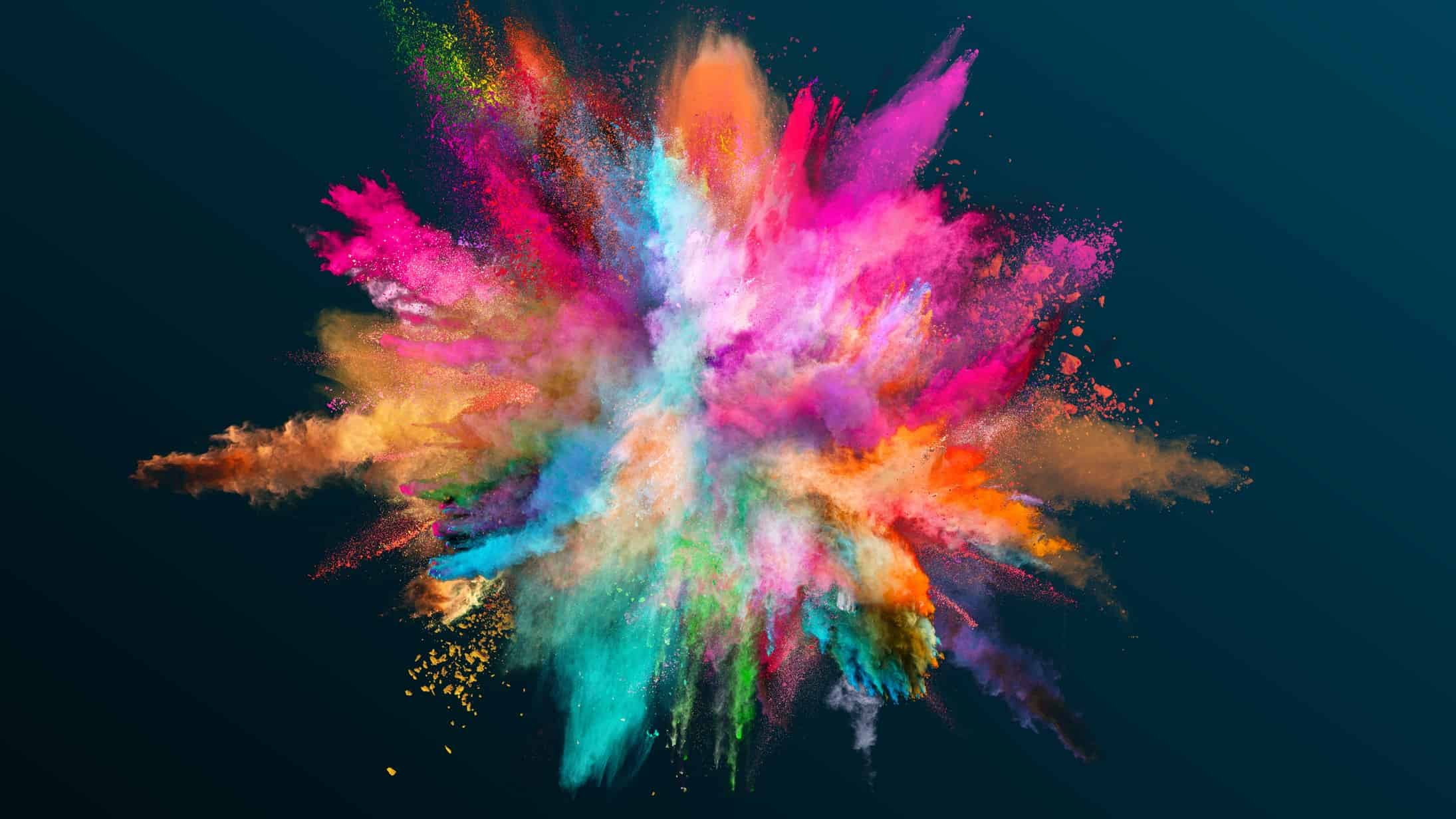 Colourful explosion to symbolise ASX share price growth