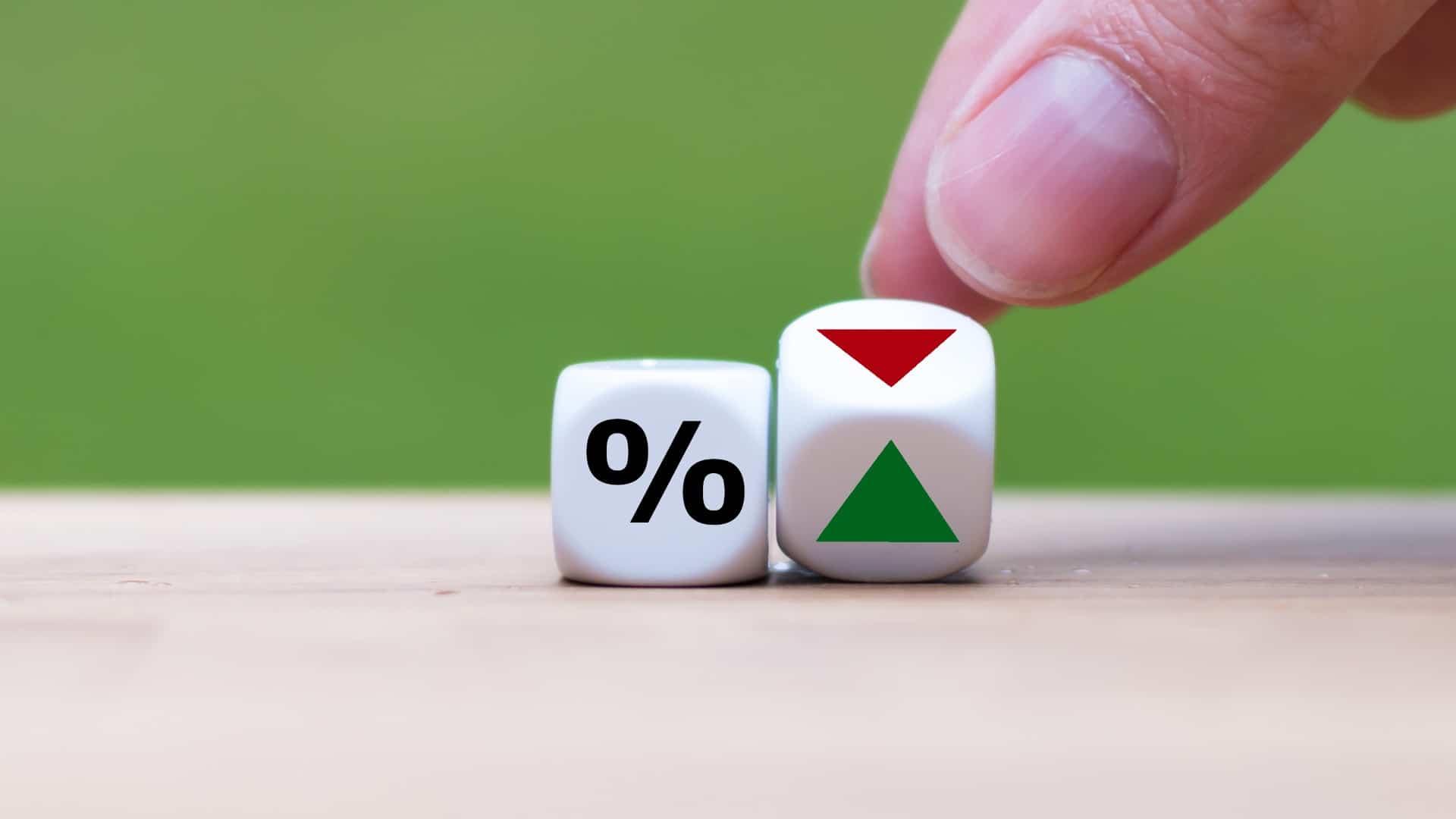 negative percent