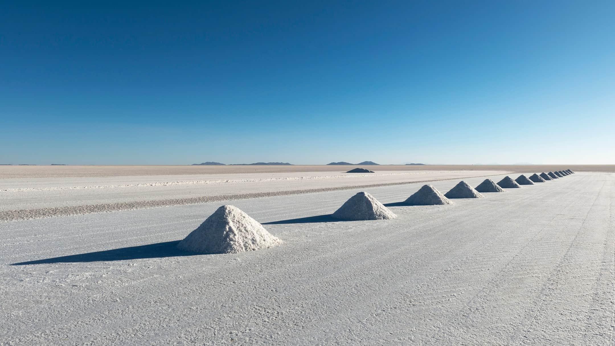 Lithium mineral deposits