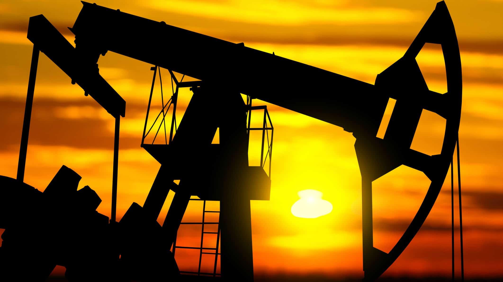 oil company share price