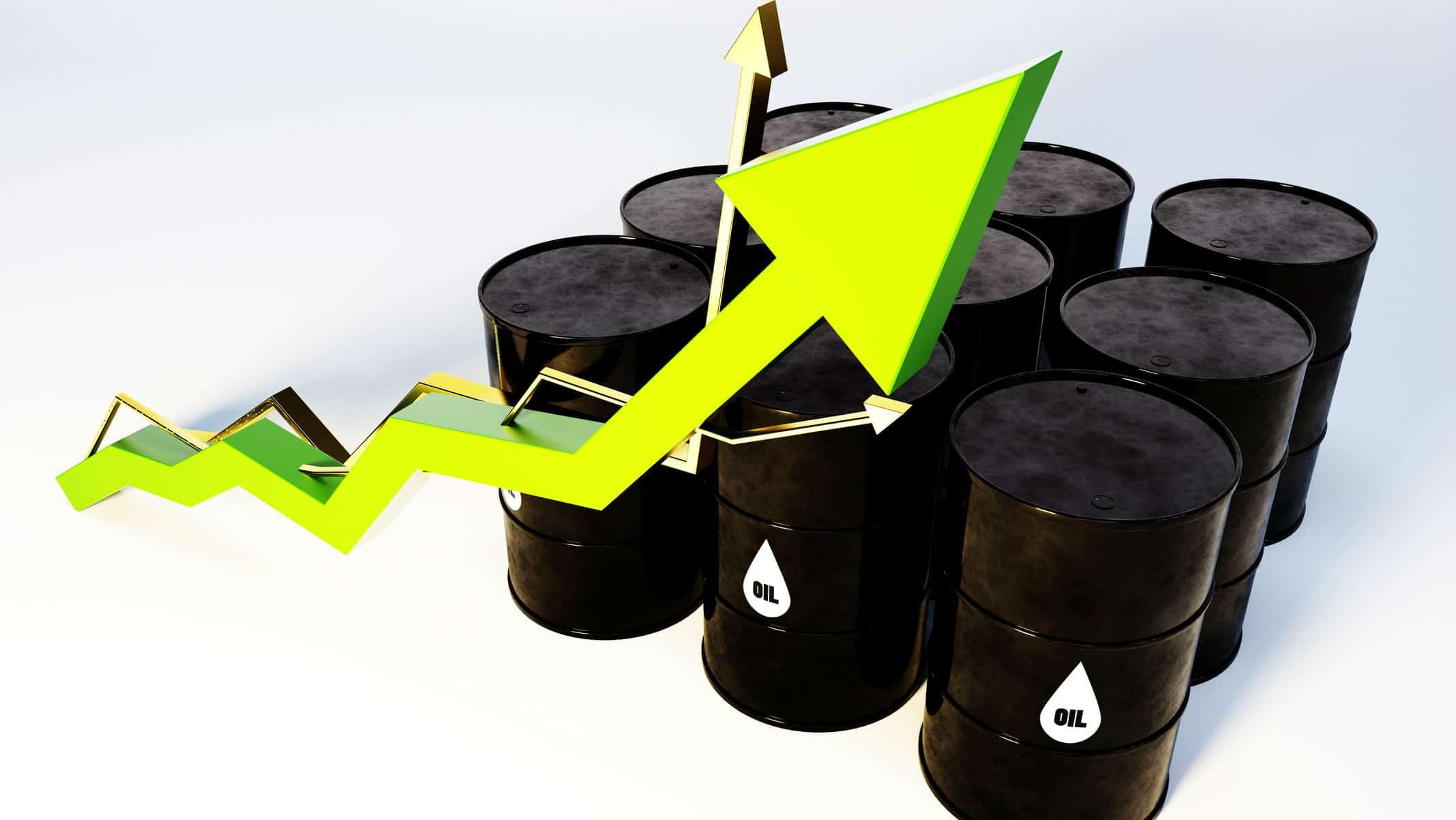 Price of Oil Rising