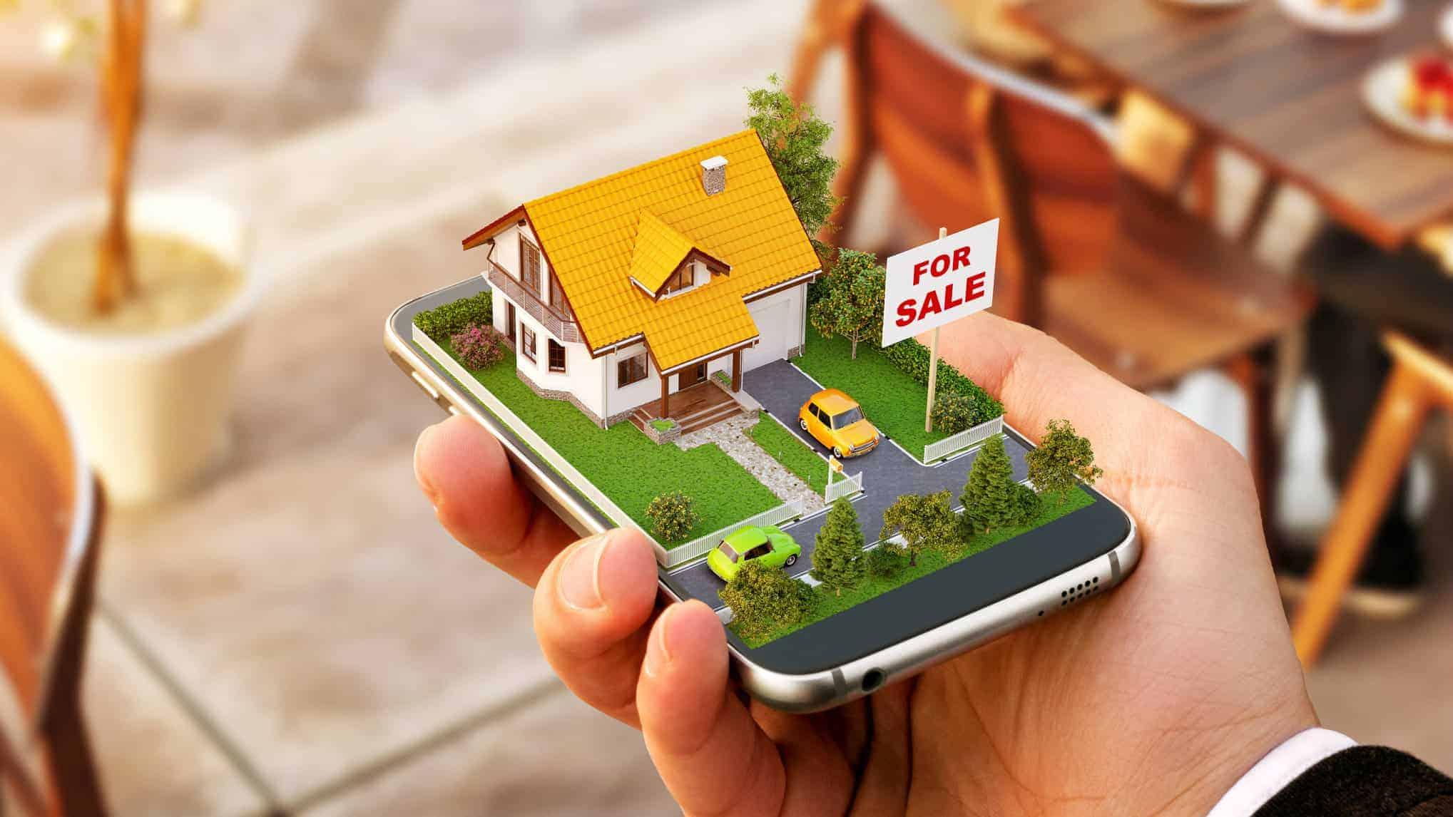 online real estate shares