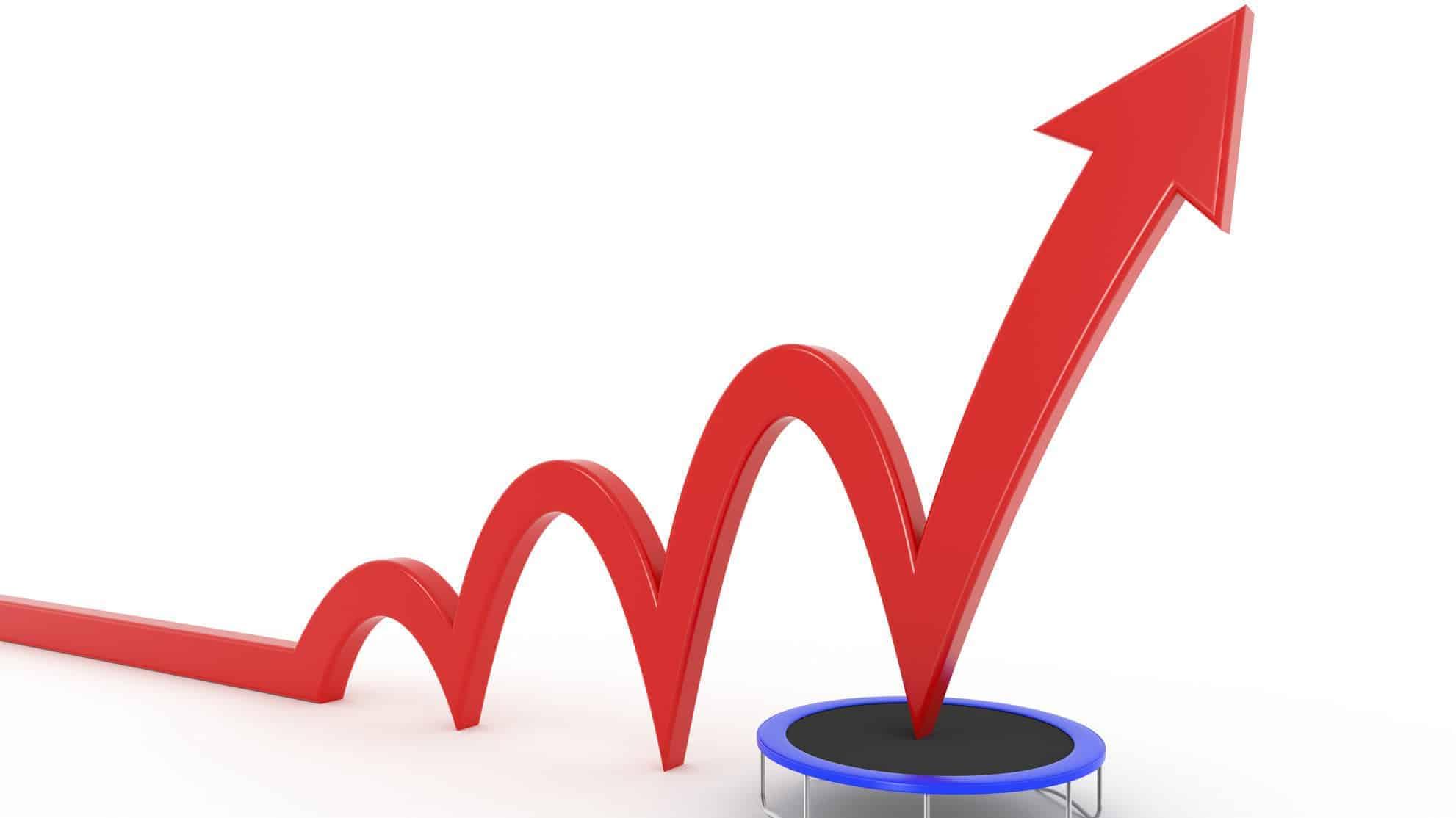 share price rebound