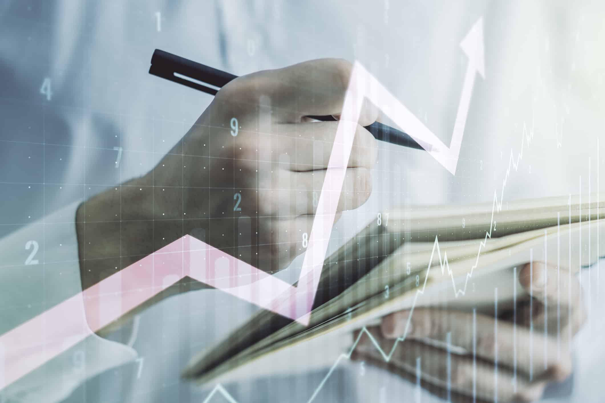 Rising market, bull market, analyse market, assess market