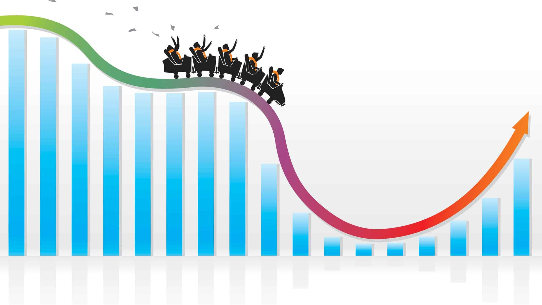 share price rollercoaster