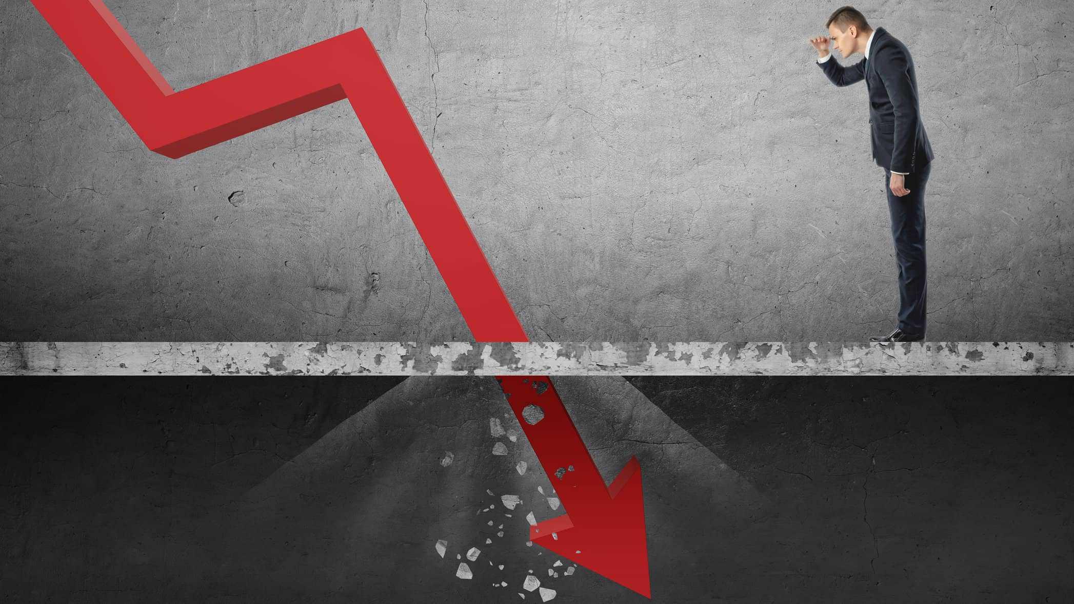 Share price plummet