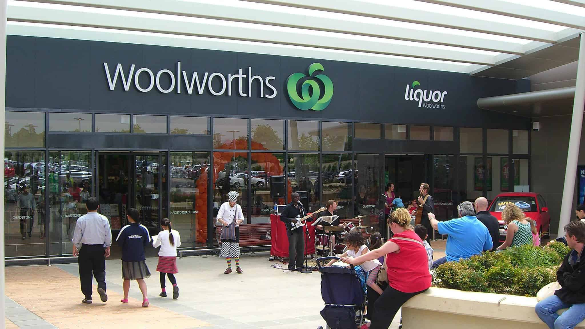 Woolworths share price