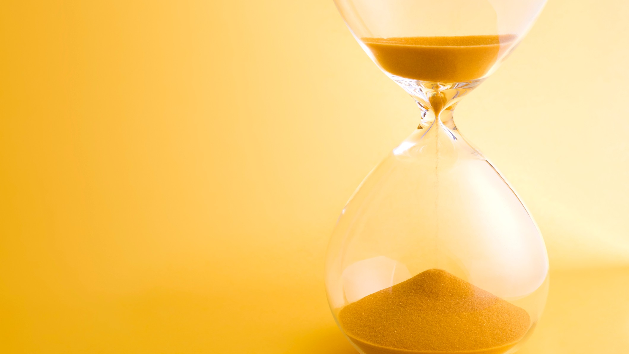 asx share price deadline represented by egg timer running low