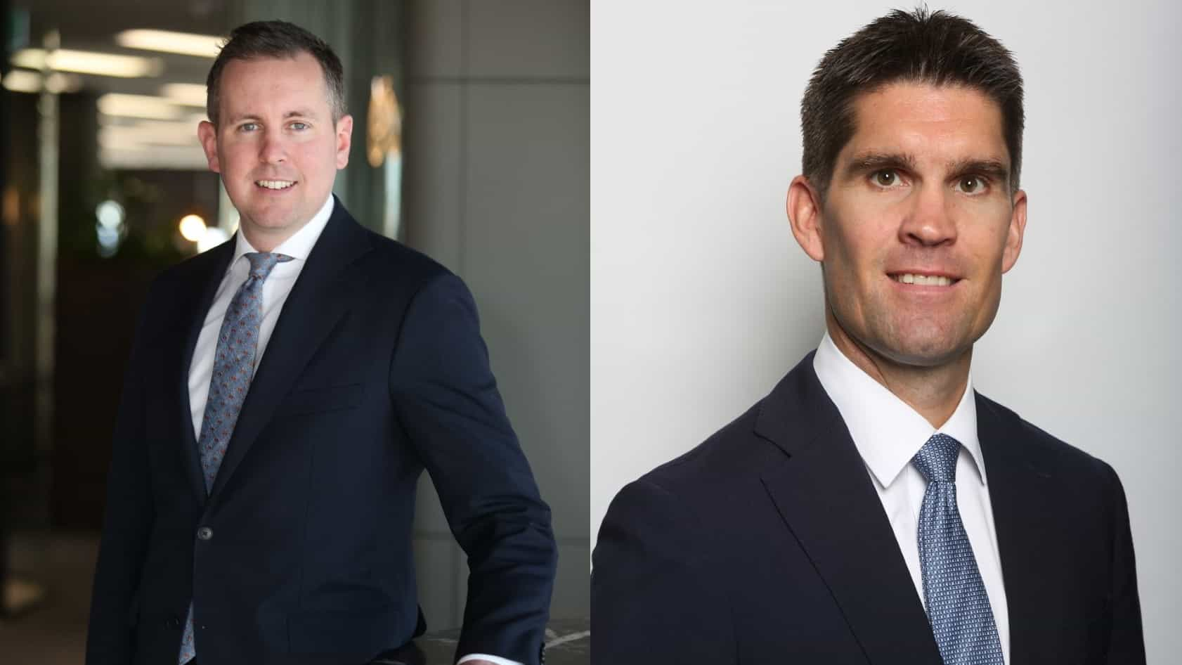 side by side images of two fund managers from centuria capital