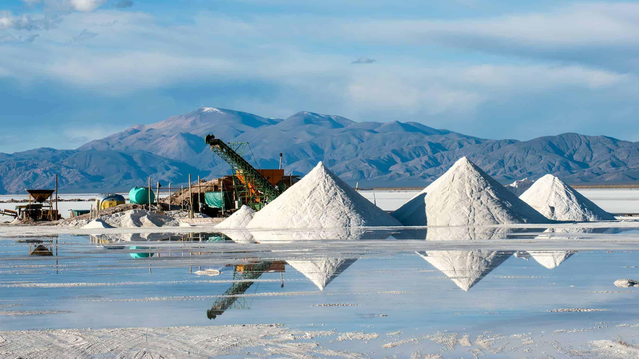 lithium shares