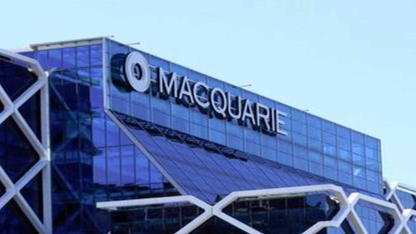 macquarie share price
