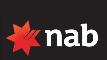NAB share price