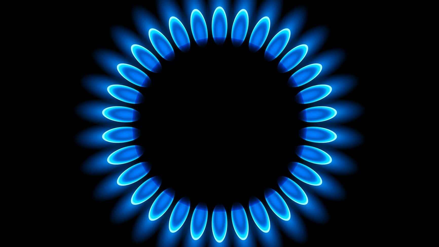 close up shot of gas burner representing asx energy share price