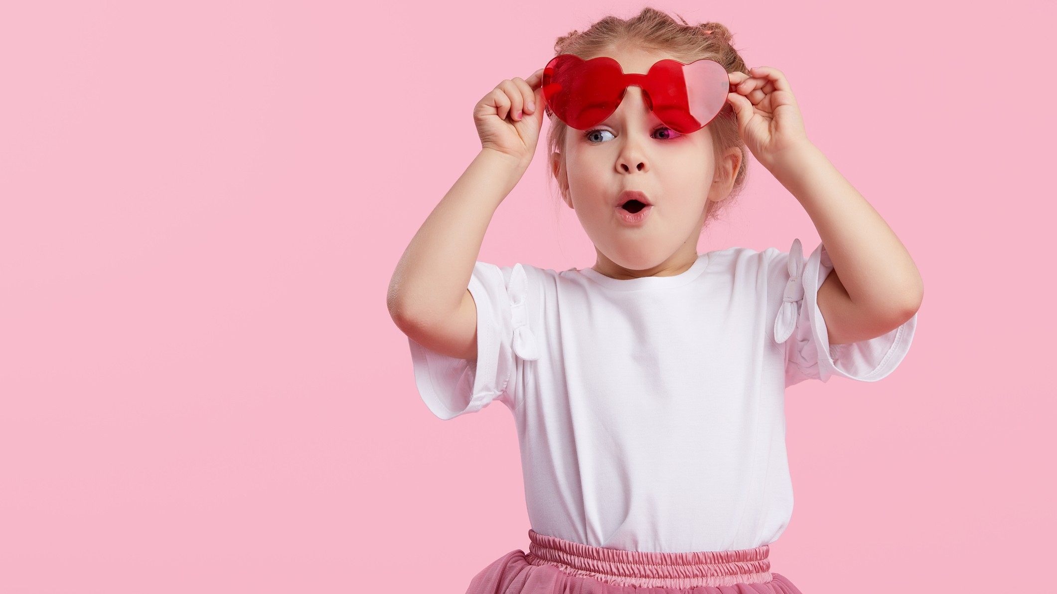 tiny asx share price growth represented by little girl looking surprised