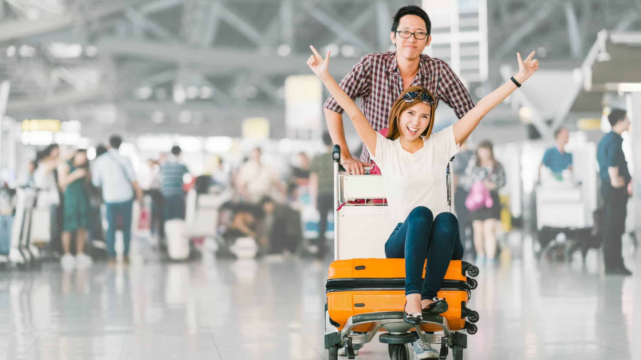 tourist, Chinese, airport, holiday, flight, flying