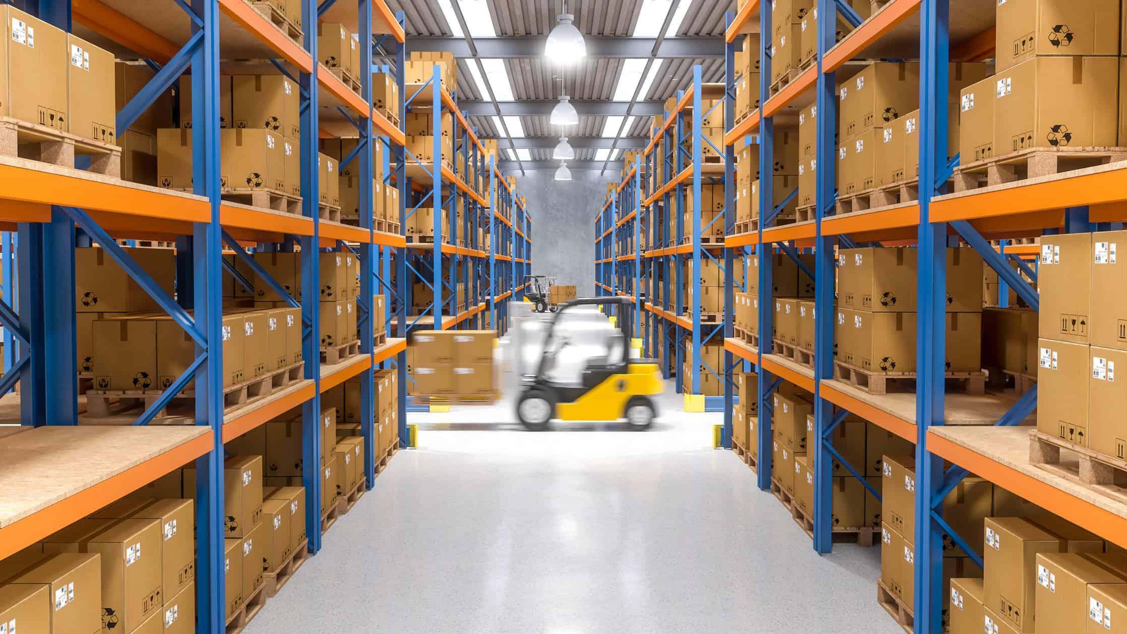 warehouse, storage, container,
