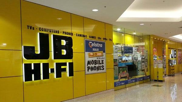 JB Hi-Fi share price