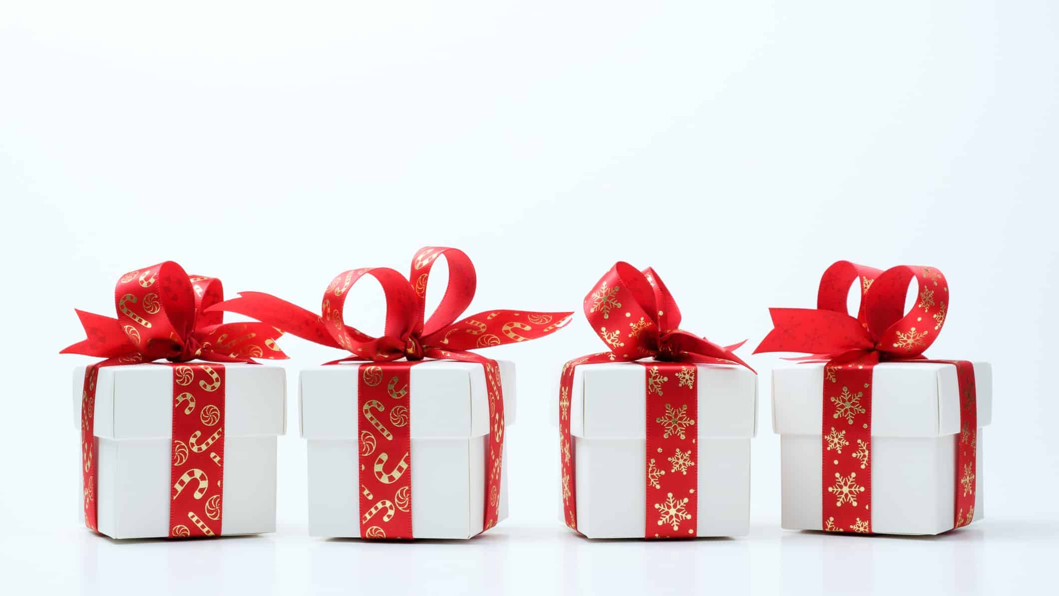 4 asx shares to buy for christmas represented by 4 little christmas presents