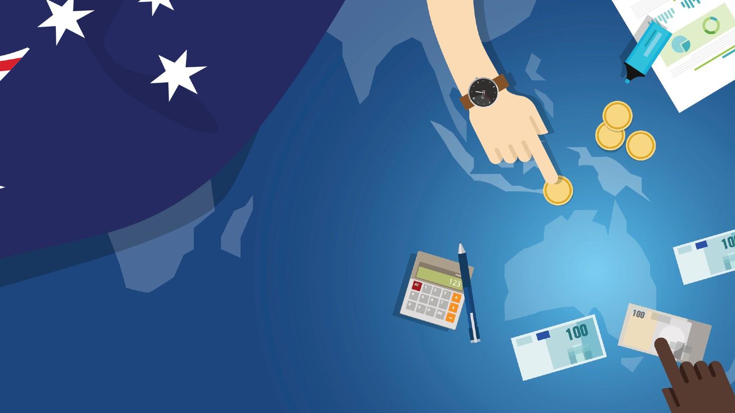 graphic depicting australian economic activity
