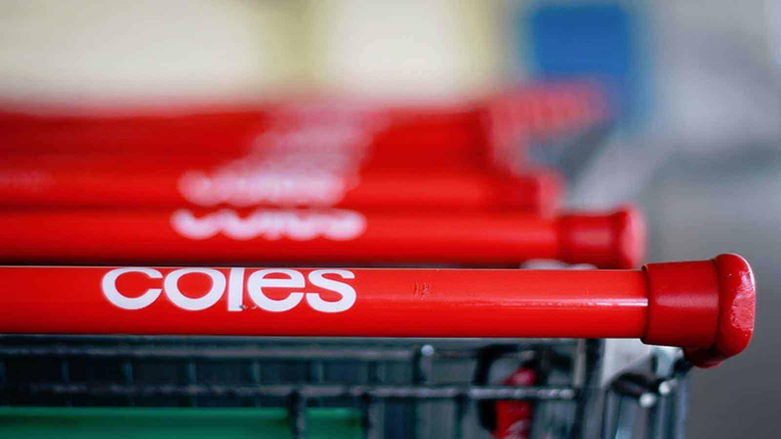 Coles share price