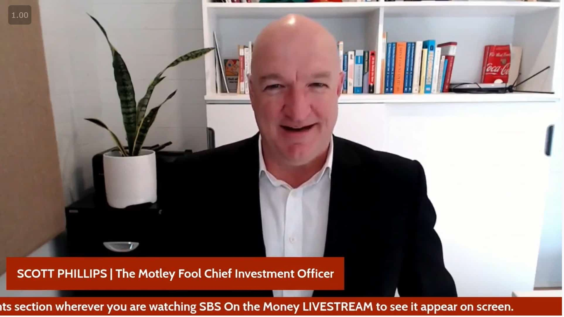 Scott Phillips on SBS News 14 April 2021