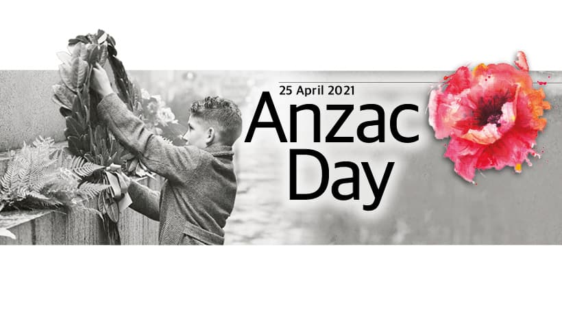Anzac Day 2021 banner image
