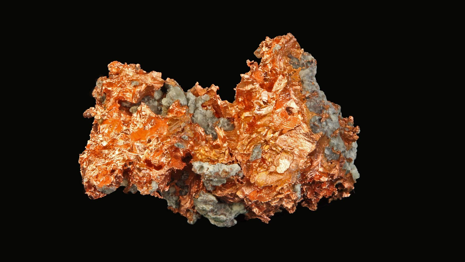 asx copper share price represented by chunk of mined copper