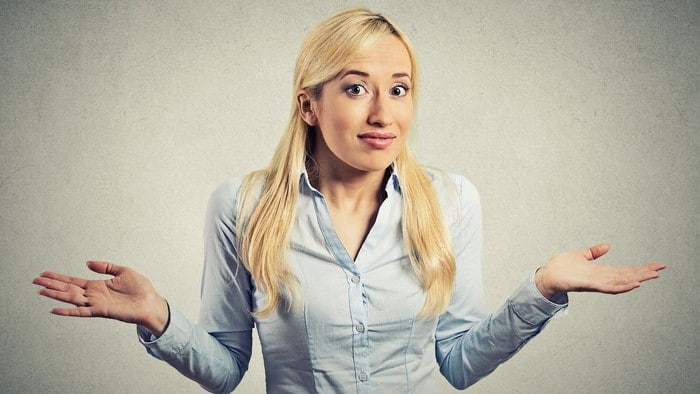 asx share price fall represented by woman shrugging