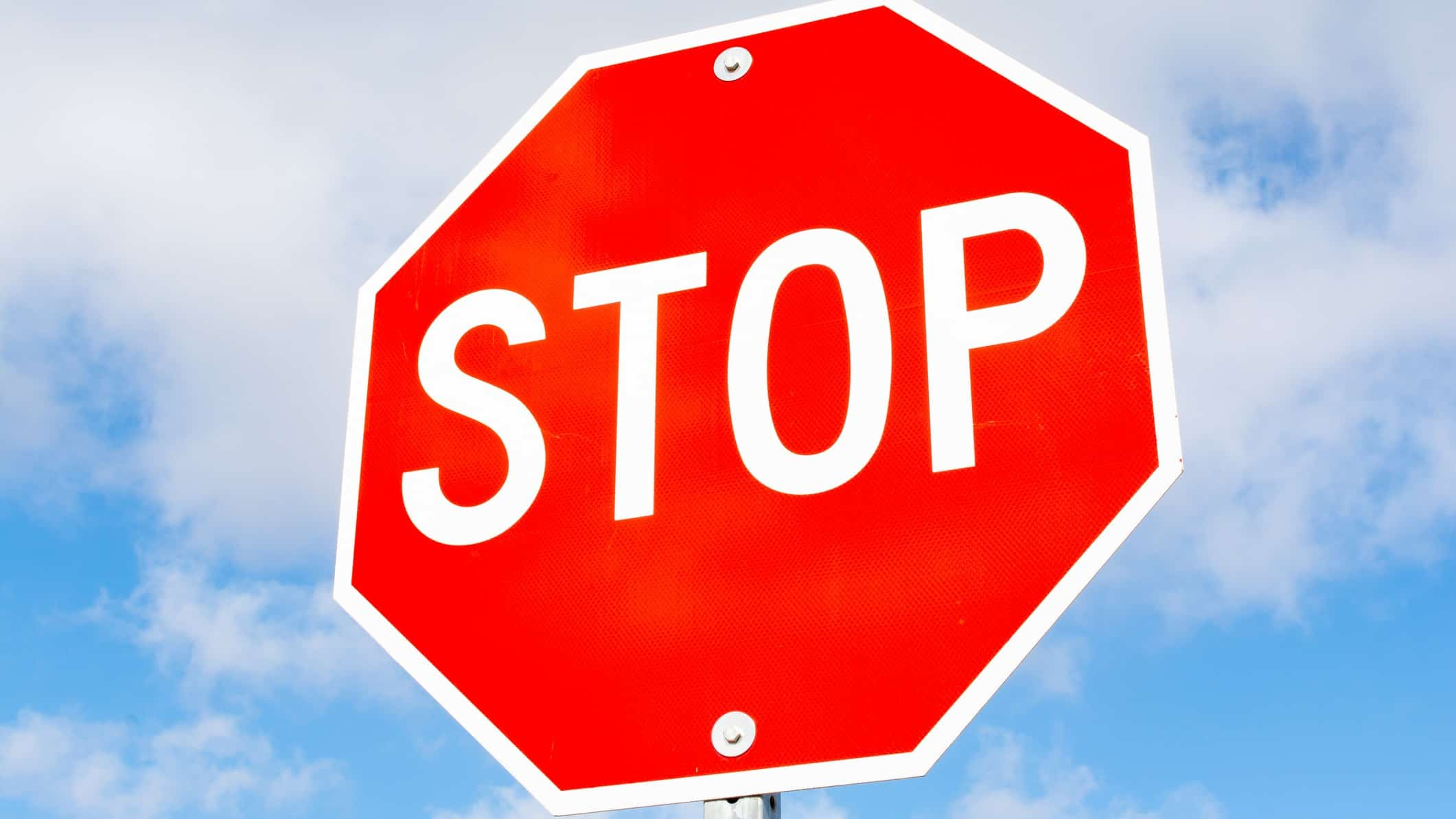 asx share price trading halt represented by stop sign