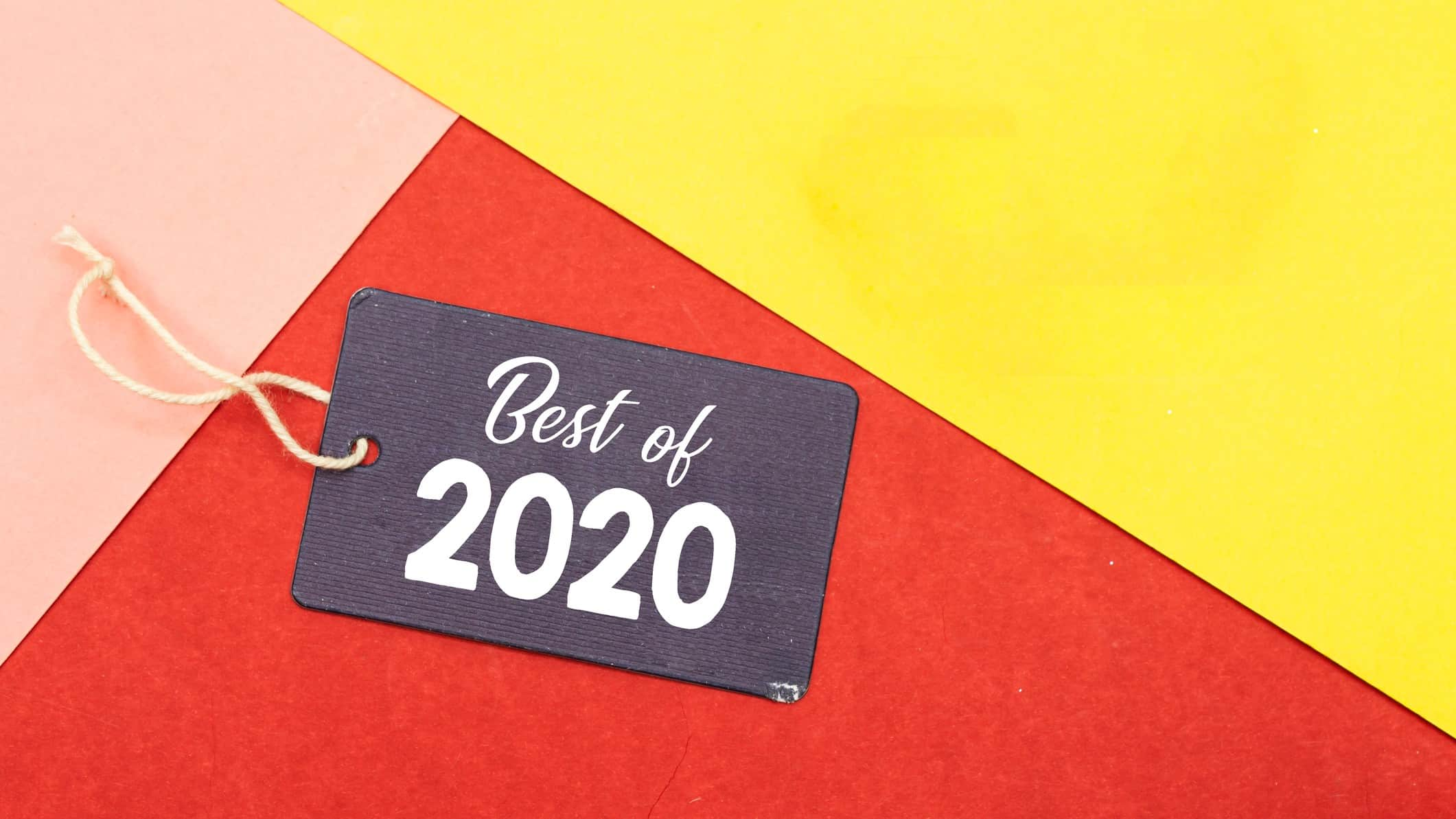 best asx shares of 2020 represented by tag stating best of 2020 against colourful background