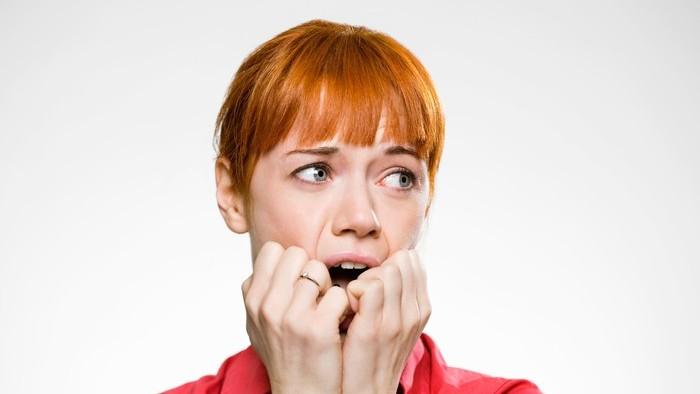 womenn worried and in fear