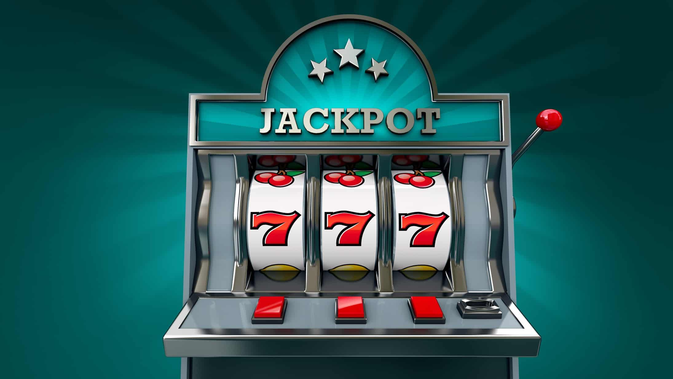 gaming asx share price rise represented by slot machine paying jackpot