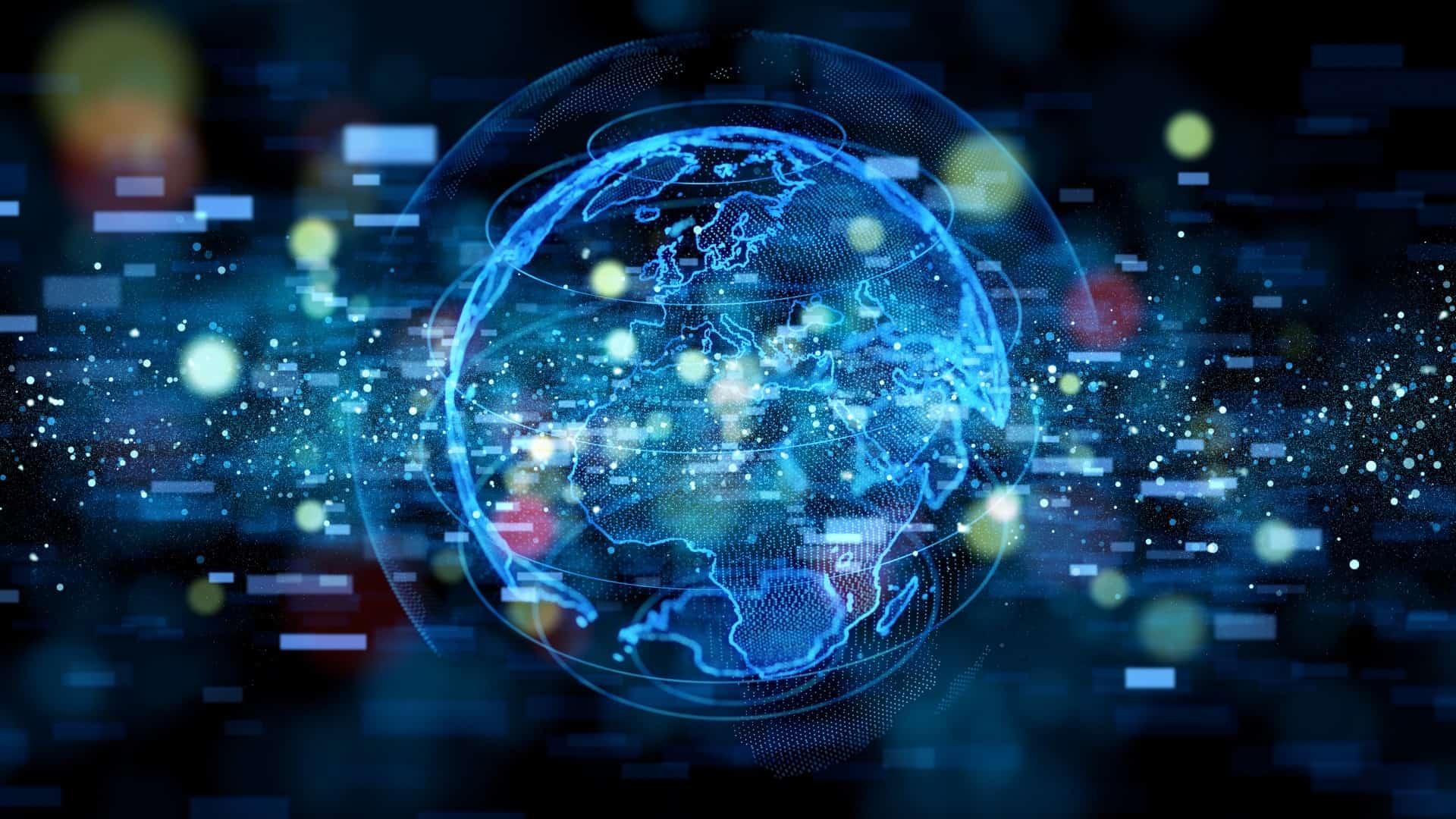 Globe tech image
