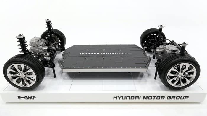 Hyundai's E-GMP electric-vehicle platform could underpin Apple's car.