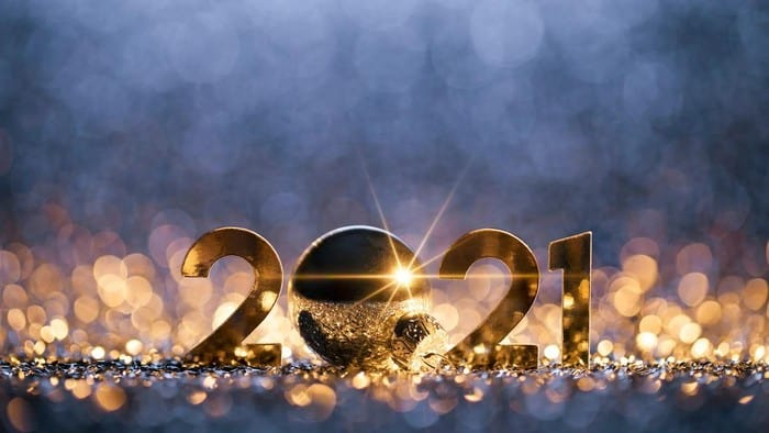 asx shares in 2021 represented by sparkling gold numbers 2021
