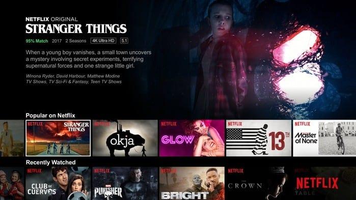 netflix shares represented by an array of different netflix tv show ads