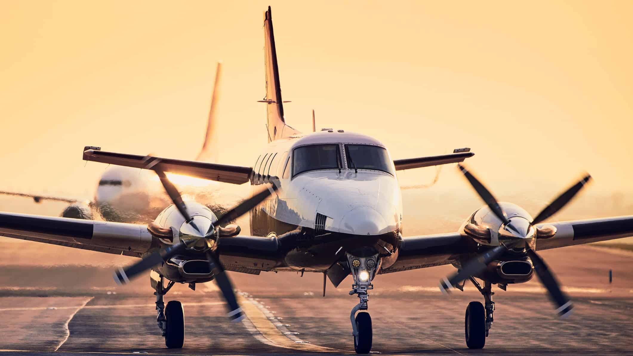 turbo prop aircraft