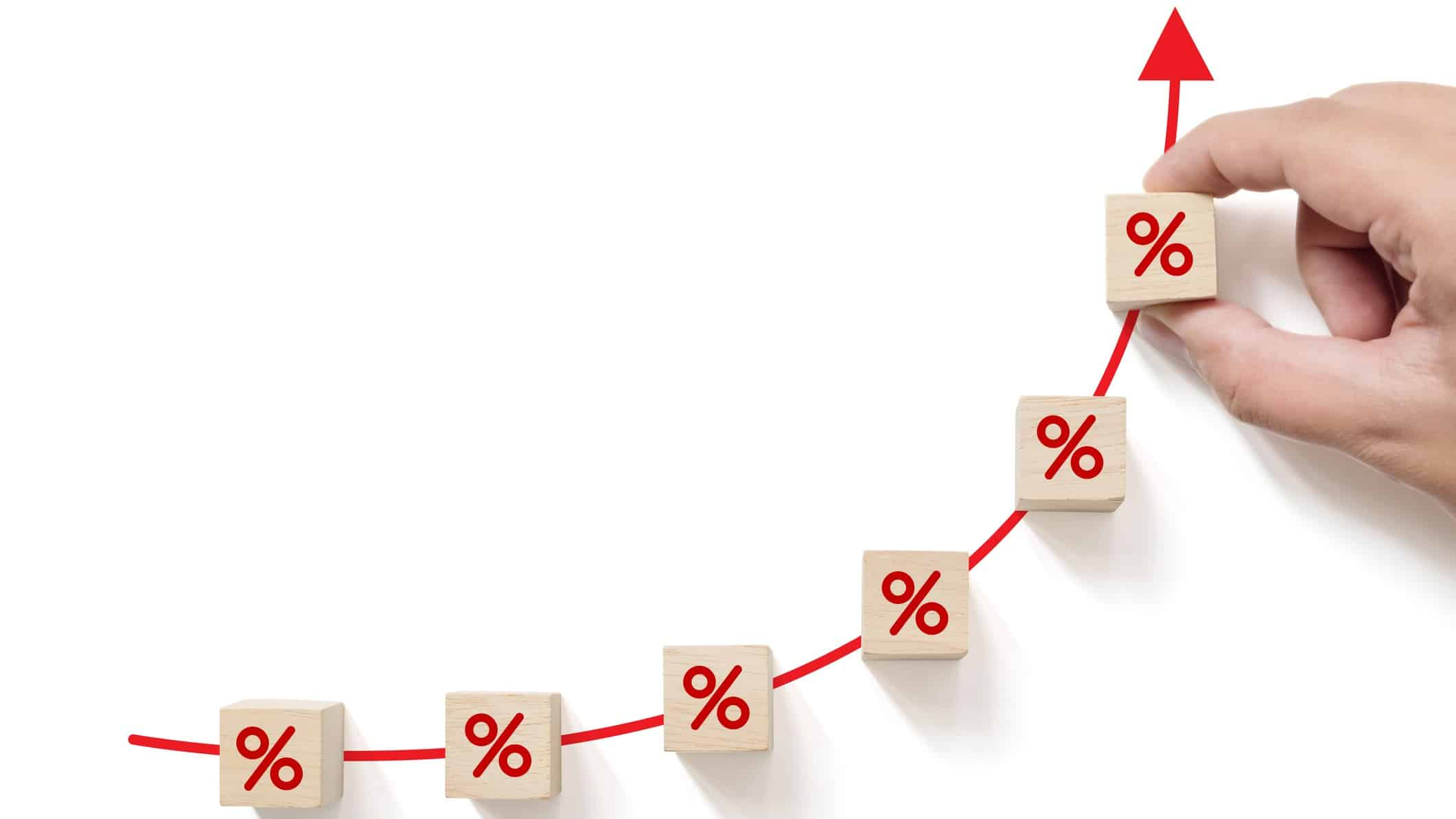 share market high, all time high, percentages increasing with red arrow, asx 200